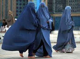 Can you imagine this on American women?! Atrocity! Only you can prevent burkas! No, but really, this book is a cautionary tale.
