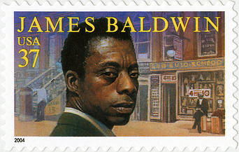 James Baldwin knows David and Giovanni's suffering firsthand. He endured prejudices against Black Americans, against gay men, and against gay Black American men. But he got a stamp for it, so there's that going for him.