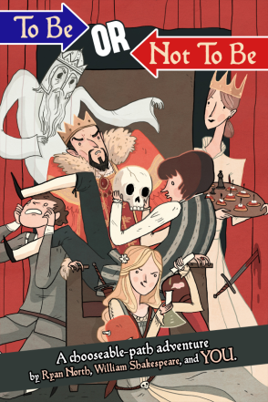To Be or Not To Be was a smashing success on Kickstarter. Now Ryan North is working on another Shakespeare-Choosable Adventure mash-up featuring none other than Romeo and Juliet.