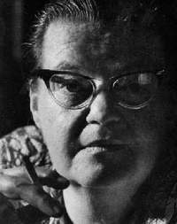 The woman herself. Shirley Jackson wrote dozens of short stories, mostly mysteries and thrillers, and was nominated for the National Book Award in 1960.