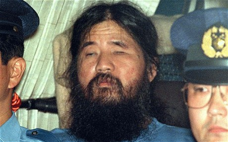 The Aum cult leader, Shoko Asahara, was described by his followers as being powerful, charismatic, even prophetic. After the attacks, Asahara was arrested and sentenced to death. He is still awaiting his execution today. (Image from The Telegraph)