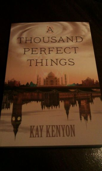 Don't worry, I got it signed. Looking forward to reading Kay Kenyon's A Thousand Perfect Things and posting the review soon!