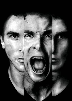 Gone Girl is all about identities: Internal Nick versus Public Nick, Diary Amy versus Real Amy. Apparently, Christian Bale is the very definition of Schizophrenia (because his image was the first in a Google image search), and I think he would have been a fantastic Nick in the film adaptation. Alas.