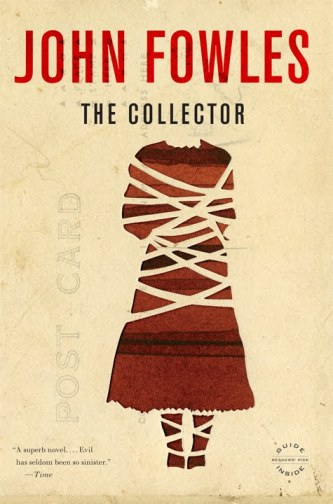 John Fowles's first novel The Collector blew everyone out of the water. I myself have been out of the water since I read it in April this year.