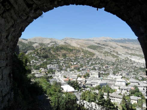 Here's Gjirokastër post-madness. It's probably pretty similar to Gjirokastër pre-madness, but believe me. Shit goes down.