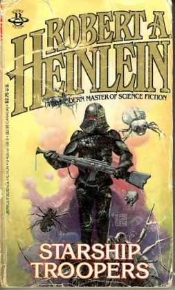 Don't even think about the 1997 film adaptation. Robert A. Heinlein's Starship Troopers is classic Sci-Fi.
