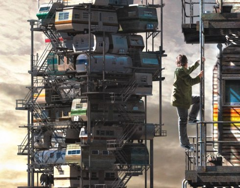 Cline's real life dystopia seems pretty cool, but takes the back seat right away. (Pic from ReadyPlayerOne.com)