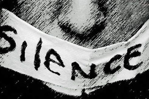 From strikes to monastic vows, intentional silence is a powerful, strategic move. But does Sotatsu's silence indicate guilt or innocence? Victory or defeat? (Image from frontpagemagazine.com)