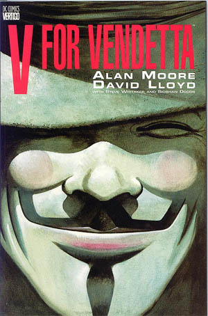 The Guy Fawkes mask has become a global phenomenon thanks to Alan Moore and David Lloyd's V for Vendetta.