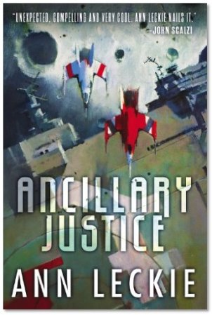 Ancillary Justice, Ann Leckie's debut novel, is the first in a long (*crosses fingers*), robust Radch series.