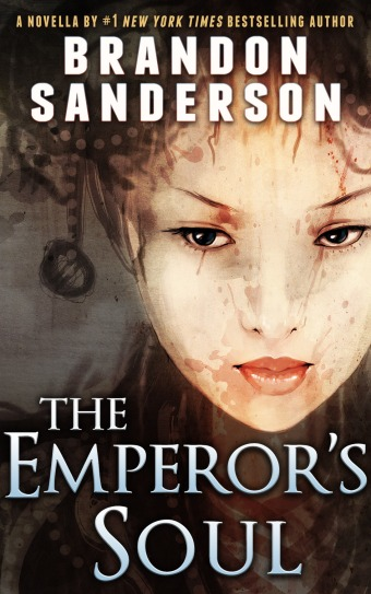 Grab a copy of Brandon Sanderson's The Emperor's Soul for a quick, entertaining read.