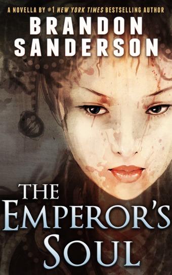 Grab a copy of Brandon Sanderson's The Emperor's Soul for a quick, entertaining read.