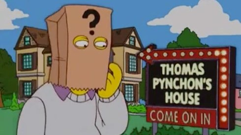 The secretive Thomas Pynchon has become a curiosity everyone. We only have his quirky novels by which to know him. And The Simpsons.