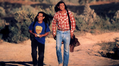 In 1998, the indie film Smoke Signals was released. Based on Alexie's short story collection, Smoke Signals featured Victor and Thomas's adventures in an all-Native American production.