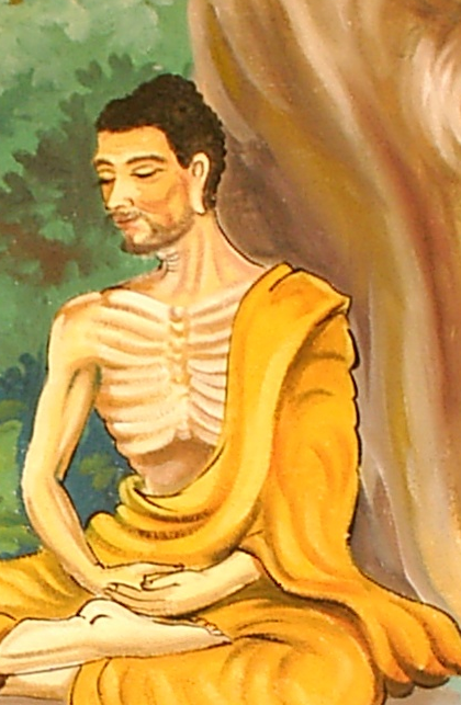 At one point, Siddhartha meets the Buddha Gotama, but rejects his teaching to follow his own path.