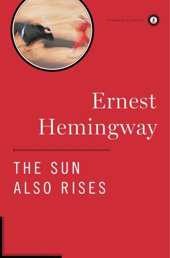 The Sun Also Rises [1927] by Ernest Hemingway paints a portrait of the Lost Generation--namely, a group of ex-patriots surviving the Modern Age through willpower, irony, and a whole lot of wine.