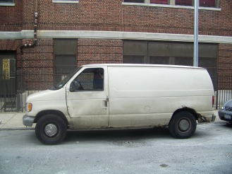 "All you need to say is, ""White van,"" and your mind is filled with dark and threatening possibility."