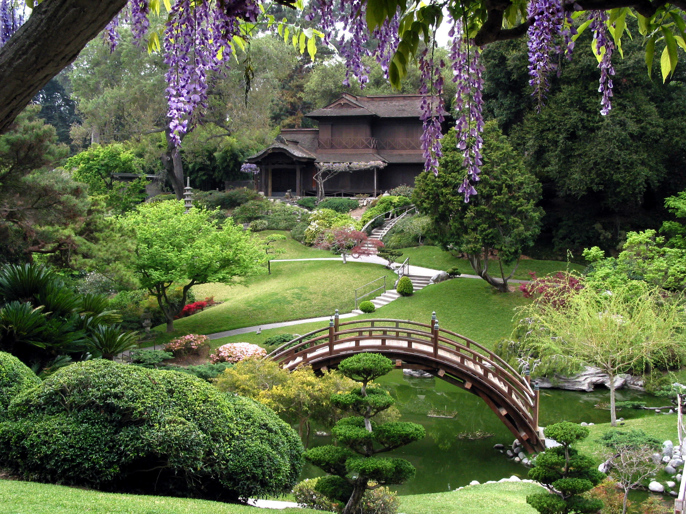 the samurais garden themes