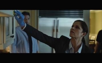 Kim Dickens' Detective Rhonda Boney gives the film--and its increasingly chaotic spiral--a realistic foil.