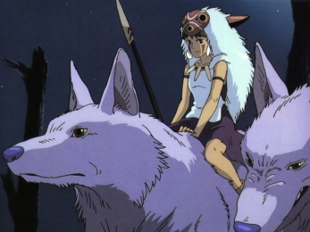 If Lur were any more like San from Princess Mononoke, Lief would be done for on page one.