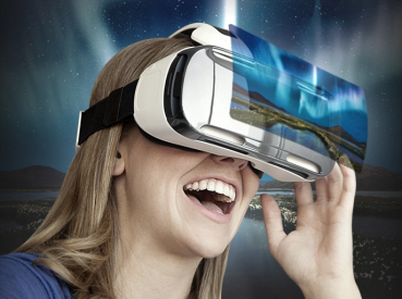 Let virtual reality take you to the future!