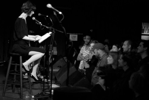 Miranda July at Neumo's in Seattle (Photo credit: Paul Gibson)
