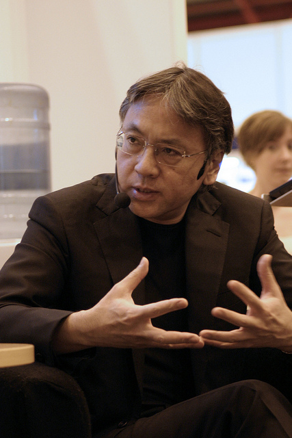 "Kazuo Ishiguro (Photo from ""English PEN"")"