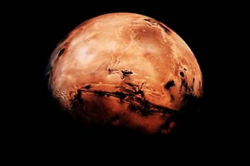 "Mars is, as it turns out, not that far away, but I'll let the Mark Watney's of the world visit before I ever do. (Photo from ""NASA's Marshall Space Flight Center"")"