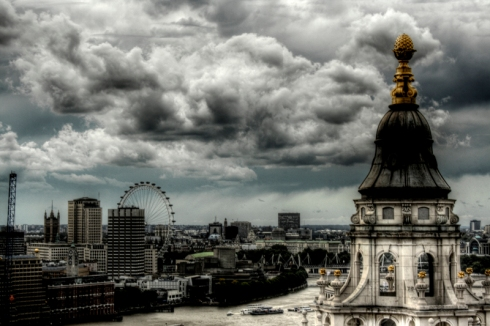 Grey London is devoid of magic. It's dull and weak and boring. It's our London, so thanks for rubbing it in, V. (Photo from J.A. Alcaide)